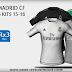 REAL MADRID CF ADIDAS 15/16 HD + FONT + NUMBERS