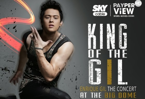 Enrique Gil Concert Live on Sky Cable Pay-Per-View (November 29)