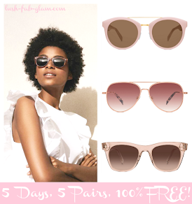 Look fabulous this spring with Warby Parker's uber-chic sunglasses.