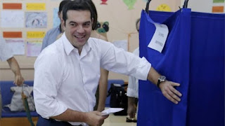 Greece Voting Election begins in tight race 2015