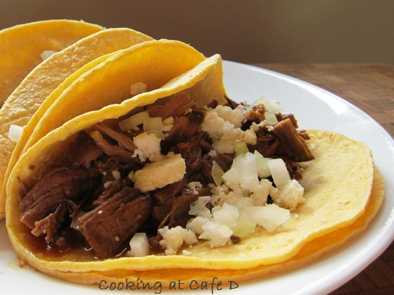 Quick Tacos Braised Beef Leftovers