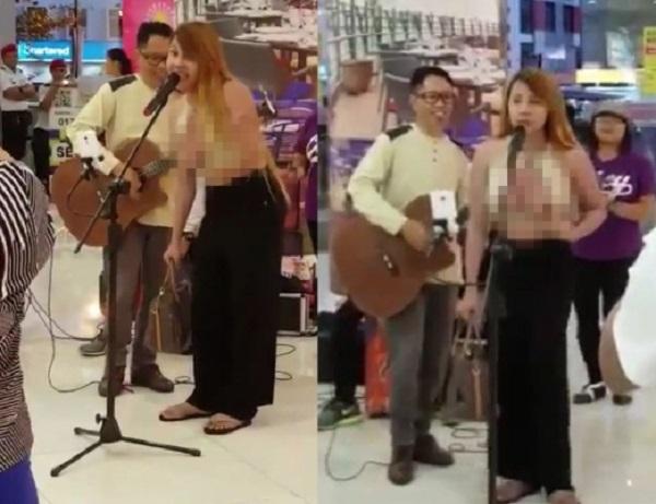 Aksi 'wanita' menyanyi tayang payu dara disiasat - DBKK