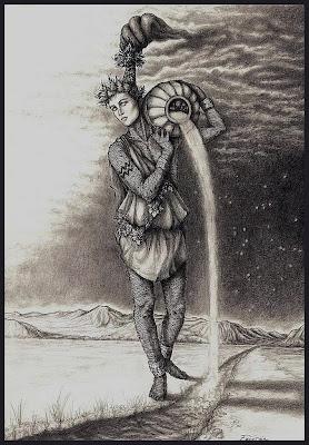 Representacion a Lapiz - acuario