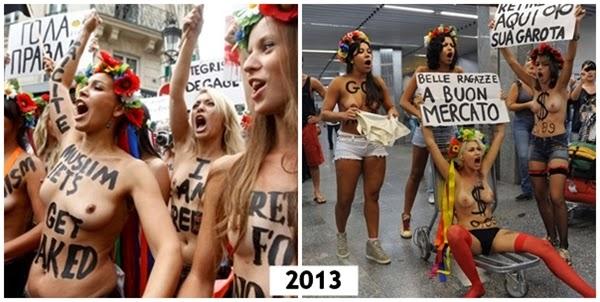 femen feminismo 2013