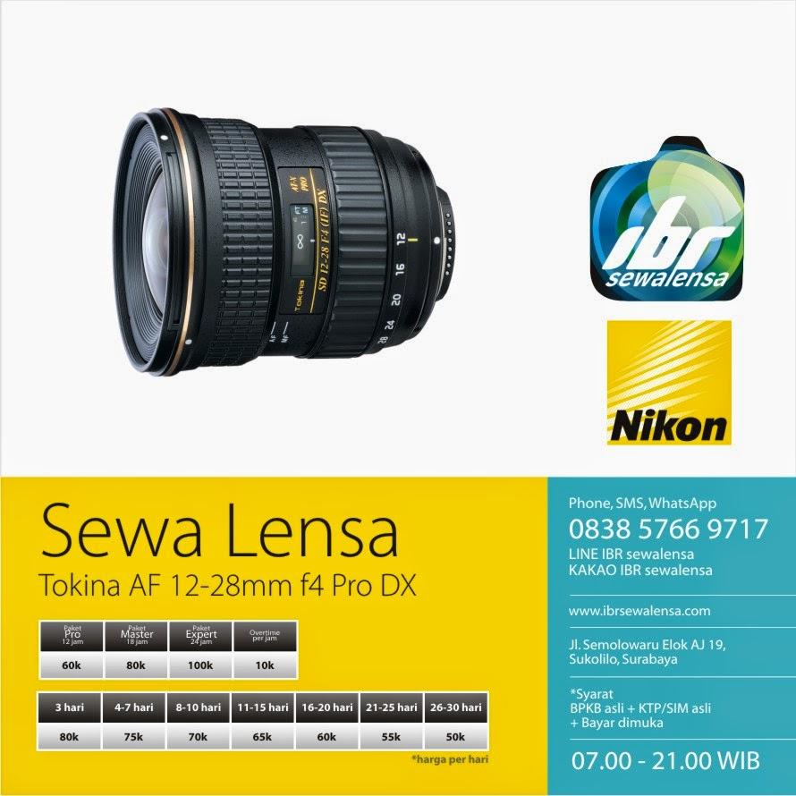 Tokina AF 12-28mm f4 for Nikon