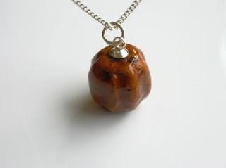Seed Pendant or Nut Pendant