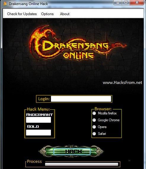 drakensang online andermant generator