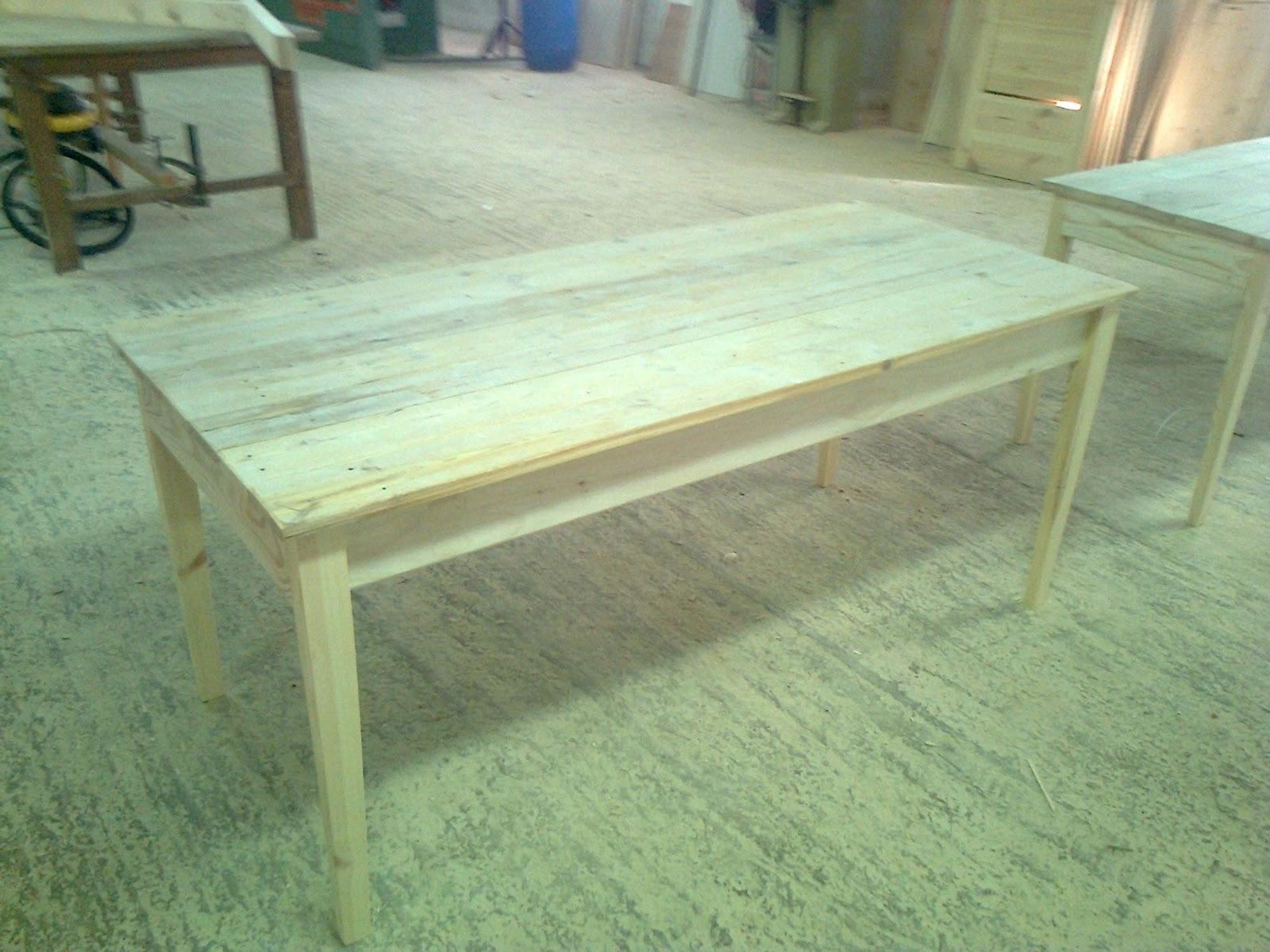 Mi las mobles taula r stica a mida per pintar mesa r stica para pintar mesas madera reciclada - Mobles vintage barcelona ...