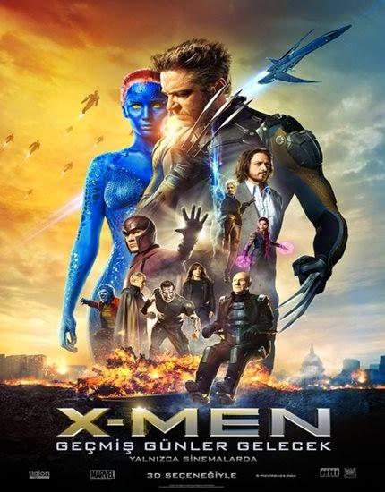 X-Men: Geçmiş Günler Gelecek - Türkçe Altyazılı - Tek Link indir