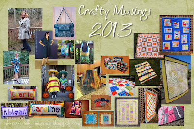 2013 Crafty Musings collage