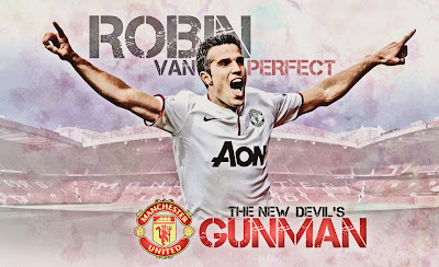Robin Van Persie The Red Devils Squad 2014