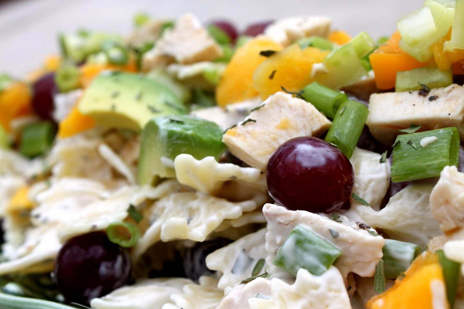 ... Kitchen: Mango Chicken Pasta Salad with Tarragon Lime Dressing
