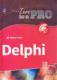 toko buku rahma: buku DELPHI, pengarang abdul kadir, penerbit andi