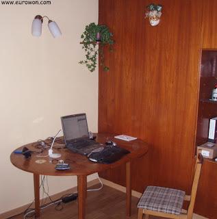 La habitación en la cual viví en irlanda