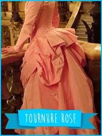 Tournure Rose