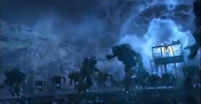 Volge Defiance battle robots aliens