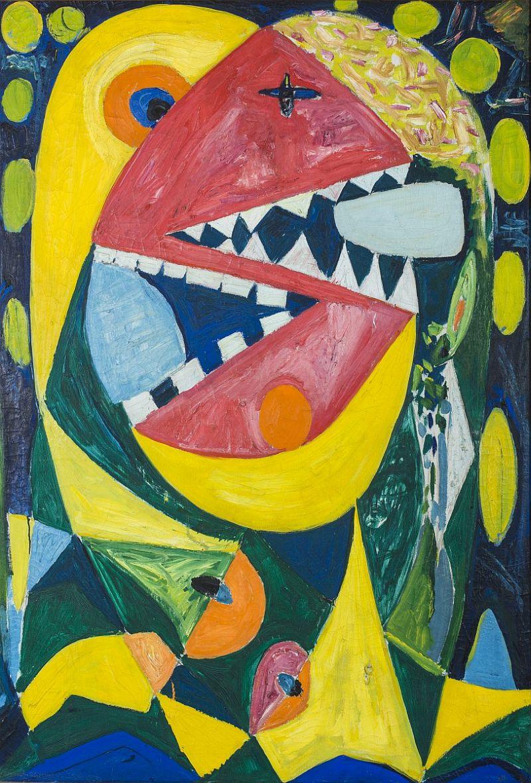 """Jackson Pollock /""""guardianes del secreto/"""" Arte Abstracto 35mm Slide"""