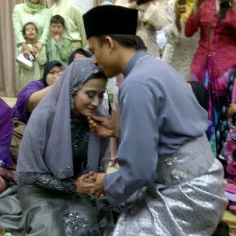 Gambar Majlis Perkahwinan Sherry Merlis dan Ash Gabba Gabba