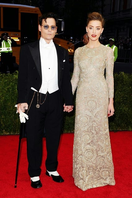 Red Carpet Met Gala 2014 johnny depp