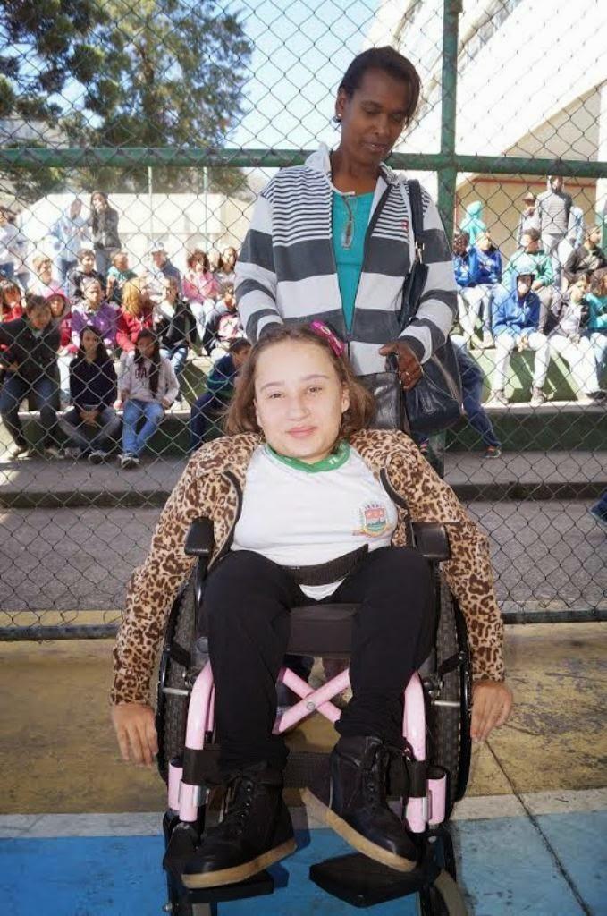 A aluna Maria Julia Lima, da Escola Municipal Maçom Lino Oroña Lema, aprova a iniciativa