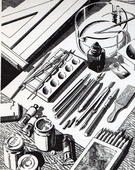 Material de dibujo