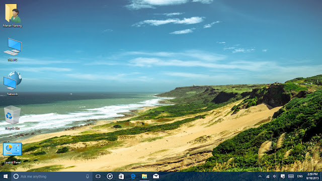 Windows 10 on desktop PC