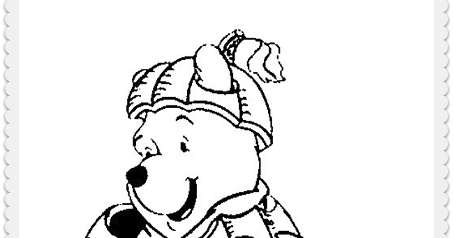 halloween pooh bear coloring pages - photo#36