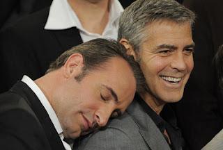Jean Dujardin e George Clooney