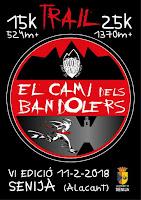 VI Edición del Camí del Bandolers (Senija-Alicante)