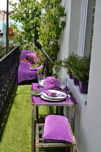 jardines pequeos con cesped artificial