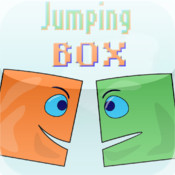 Jumping Box игра flash, ipad, iphone, ipod