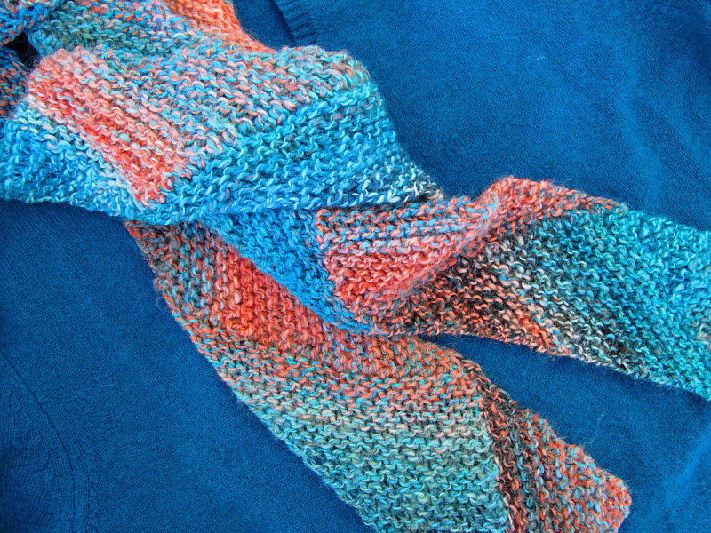 Knitting Pattern For Multi Directional Scarf : WILLOWS COTTAGE: November 2011