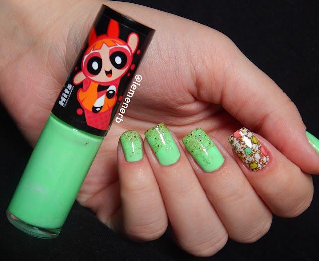 nail art com película