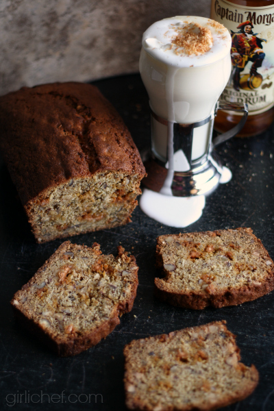 girlichef: Boozy Coconut White Hot Chocolate + Spiked Banana Bread # ...