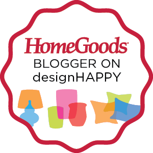 Find Me on the DesignHappy Blog at HomeGoods