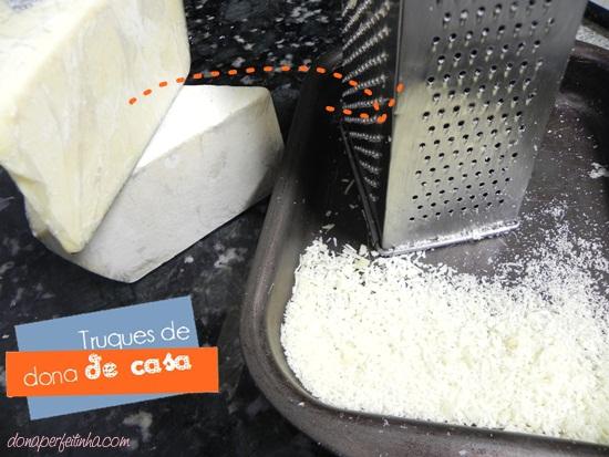Queijos especiais também vão pra queijeira!