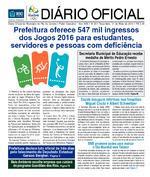 DIÁRIO OFICIAL DA PCRR - 09/10/2015