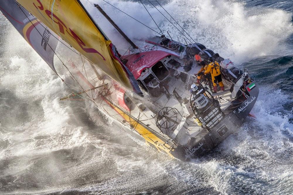 Virile, la Volvo Ocean Race  !