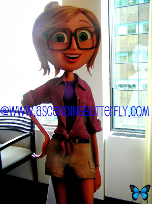 Character Standee of Sam Sparks, Voiced by Anna Faris