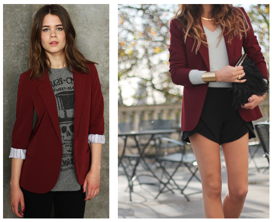 Pretty.Random.Things. Maroon u0026 Burgundy for Fall/Winter 2012