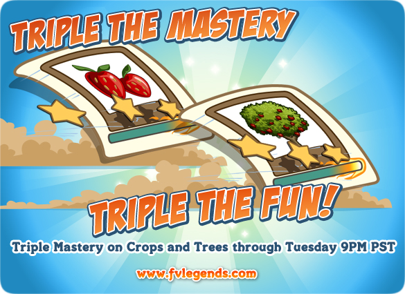 FarmVille Triple Mastery Weekend Loading Screen