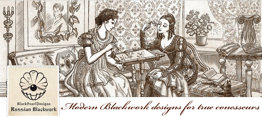 Russian Blackwork