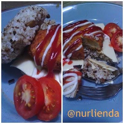 Burger Tutug Oncom, Alternatif Sajian Balita dan Anak Sekolah