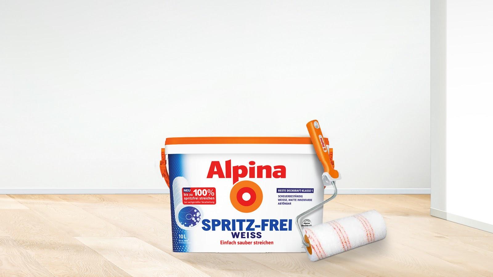Mit alpina weiss sauber streichen leichtgemacht ~ manus ...