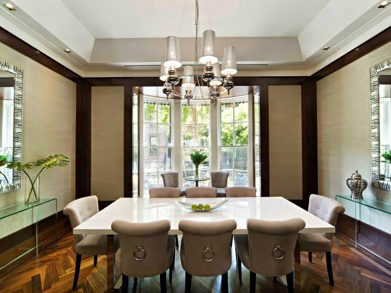 dining room new york city townhouse million dollar listing