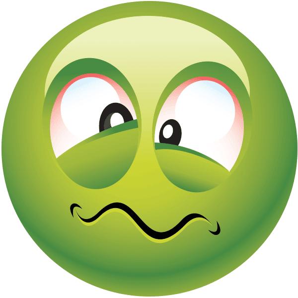 Feeling Green Smiley