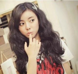 Blonde style, Model Rambut Korea-