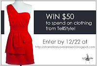 Enter to Win $50 for Clothing from TellStyle.com - Ends 12/22/12