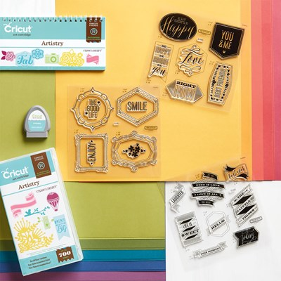 Get Creative With 700 Die-Cut Shapes
