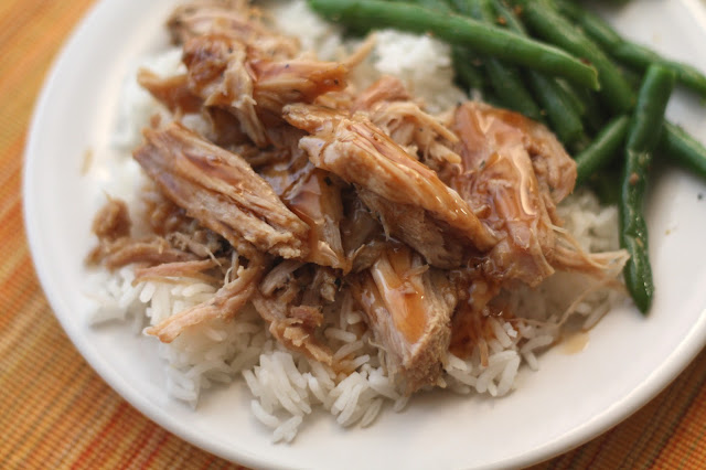 Slow Cooked Pork Roast with a Sweet Tangy Glaze recipe by Barefeet In The Kitchen